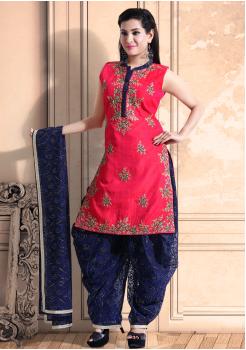 Light Green Color Georgette Designer Salwar Suit