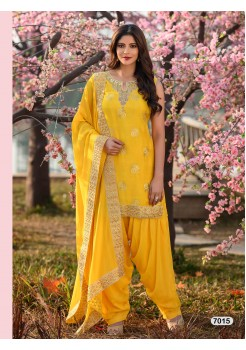 Designer Yellow Patiyala Salwar
